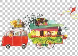 马戏团插图,马戏团车PNG剪贴画杂项,汽车事故,儿童,动物,儿童,老