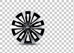 起亚嘉年华起亚汽车合金轮,起亚PNG剪贴画单色,汽车,汽车部分,轮