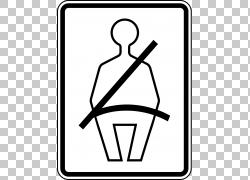 汽车飞机安全带安全,皮带PNG剪贴画角,白色,手,警告标志,汽车座椅
