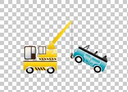 起重机汽车PNG剪贴画文本,服务,汽车,运输方式,卡通,车辆,设计,起