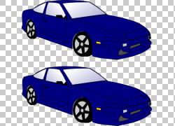 汽车黑色和白色,卡通摩托车PNG剪贴画紧凑型汽车,蓝色,汽车,车辆,