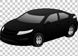汽车黑色和白色,汽车的PNG剪贴画紧凑型轿车,轿车,剪贴画,老式汽