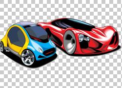 跑车,跑车卡通元素PNG剪贴画卡通人物,紧凑型车,汽车,生日快乐矢