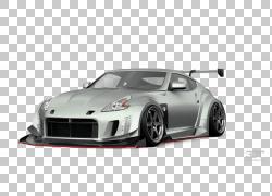 跑车2018日产370Z Coupe,调整PNG剪贴画紧凑型汽车,汽车,性能汽车