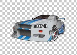 跑车Adobe Illustrator,精美赛车PNG剪贴画紧凑型汽车,蓝色,赛车,