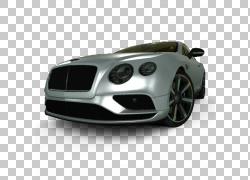 跑车宾利欧陆GT豪华车,宾利PNG剪贴画前照灯,汽车,电脑壁纸,性能
