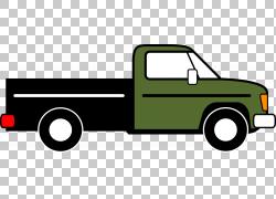 皮卡车Thames Trader丰田Hilux汽车五十铃更快,新卡车的PNG剪贴画