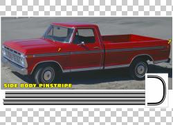 皮卡车福特F系列Thames Trader Ford Ranger,鲜红色番茄PNG剪贴画