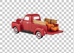 皮卡车经典车MINI Cooper,手绘海报PNG剪贴画卡车,老式汽车,汽车,