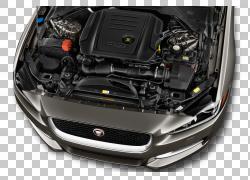 汽车2017捷豹XE菲亚特500X,汽车引擎PNG剪贴画紧凑型轿车,轿车,前