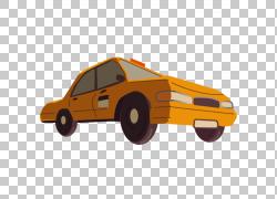 汽车出租车,出租车PNG剪贴画紧凑型汽车,橙色,车辆,黄色出租车,出