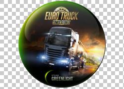 欧洲卡车模拟器2美国卡车模拟器视频游戏SCS软件蒸汽,沃尔沃PNG剪