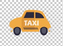 汽车出租车,出租车玩具PNG剪贴画橙色,标志,汽车,运输方式,婴儿玩