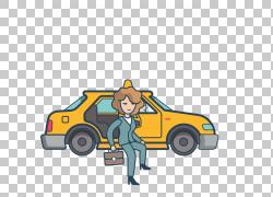汽车出租车乘客,出租车和乘客PNG剪贴画运输方式,卡通,租赁,车辆,
