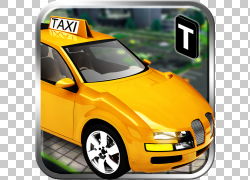 汽车出租车司机3D汽车Android,出租车PNG剪贴画紧凑型汽车,游戏,