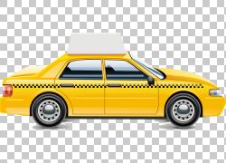汽车出租车梅赛德斯,奔驰卡车车队车辆,出租车材料PNG剪贴画紧凑