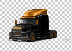 汽车半挂车卡车商用车汽车轮胎,汽车PNG剪贴画货运,卡车,汽车,运