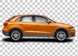 汽车,奥迪Q3汽车,橙色SUV插图PNG剪贴画紧凑型汽车,车辆,城市汽车
