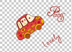 汽车,彩绘车PNG剪贴画水彩画,车祸,英语,文本,心,徽标,汽车,鞋,设