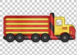 汽车,手绘卡通车PNG剪贴画水彩画,卡车,运输方式,卡通,车辆,运输,