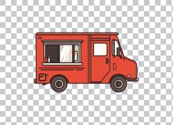 汽车卡车冰淇淋车,免费卡通卡车拉材料PNG剪贴画卡通人物,免费标