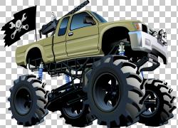 汽车怪物卡车,飞机机枪汽车PNG剪贴画汽车事故,卡车,生日快乐矢量