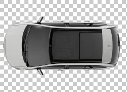 汽车福特汽车公司福特边缘,福特汽车俯瞰视图,银色SUV PNG剪贴画