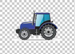汽车卡车建筑工程重型设备车辆,蓝色拖拉机头PNG剪贴画蓝色,头,狮