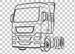汽车卡车拖拉机单元,汽车PNG剪贴画紧凑型汽车,角度,卡车,汽车,运