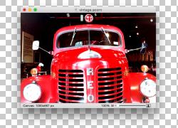汽车卡车消防车消防员车,复古效果PNG剪贴画消防员,老式汽车,卡车