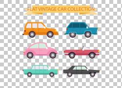 汽车绘图,自动收集PNG剪贴画紧凑型汽车,摄影,老式汽车,生日快乐