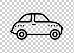 汽车绘图车,老式汽车PNG剪贴画紧凑型轿车,白色,老式汽车,汽车,运