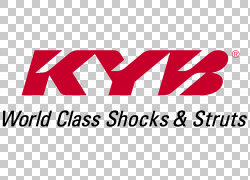 汽车KYB公司制造Strut减震器,汽车零件PNG剪贴画文本,徽标,汽车,