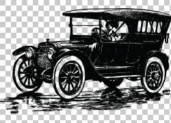汽车吉普福特模型T,旧PNG剪贴画驾驶,老式汽车,汽车,车辆,运输,复