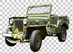 汽车吉普车梅赛德斯 - 奔驰运动型多功能车军车,汽车PNG剪贴画老