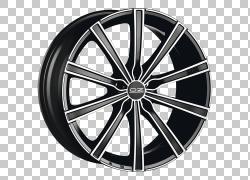 汽车OZ集团轮辋合金轮,盎司PNG剪贴画汽车,车辆,运输,黑色,汽车部