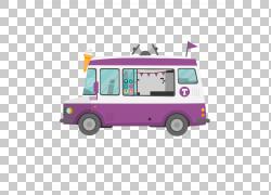 汽车机动车运输方式,创意冰淇淋PNG剪贴画紧凑型汽车,汽车,运输方