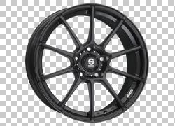 汽车Sparco Subaru Impreza合金车轮OZ集团,汽车PNG剪贴画汽车,黑