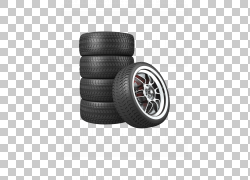 汽车备胎轮胎,汽车轮胎,四个灰色车轮和轮胎PNG剪贴画自行车,摩托