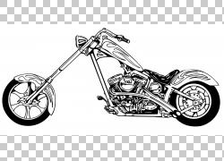 摩托车哈雷戴维森内容,摩托车服务的PNG剪贴画自行车车架,单色,运