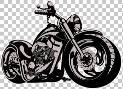 摩托车自行车,摩托车卡通PNG剪贴画摄影,摩托车卡通,单色,汽车,免