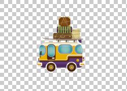 旅游巴士服务行李,旅游巴士拉材料PNG剪贴画免费Logo设计模板,校