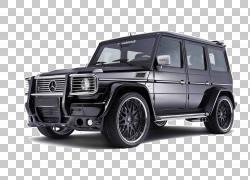 梅赛德斯 - 奔驰G级梅赛德斯 - 奔驰SLS AMG Brabus车,黑色梅赛德