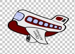 飞机卡通,飞机PNG剪贴画另一方面,飞机,卡通,汽车,运输,买断式授