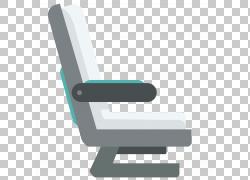 飞机飞机座椅,平面飞机座椅PNG剪贴画角度,家具,类,汽车座椅,封装
