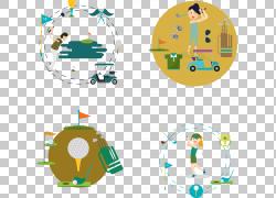 高尔夫球场运动高尔夫球,高尔夫PNG剪贴画cdr,旗,高尔夫,汽车,高