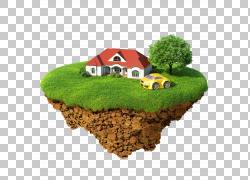 高尔夫球场高尔夫俱乐部高尔夫球,汽车悬浮岛屋PNG剪贴画建筑,摄