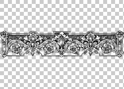 黑白单色摄影,devider PNG剪贴画角度,摄影,对称性,单色,铁,金属,