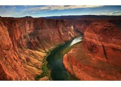 96582,地球,宏伟的,峡谷,峡谷,壁纸