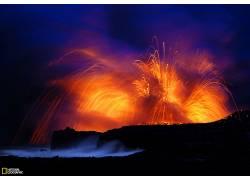 96826,地球,火山,火山,壁纸